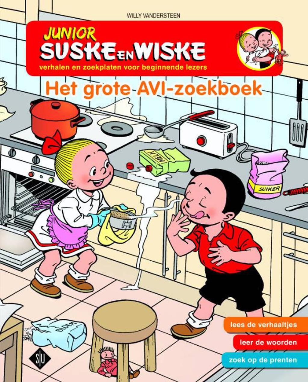 Junior Suske en Wiske: Het grote AVI zoekboek - Willy Vandersteen