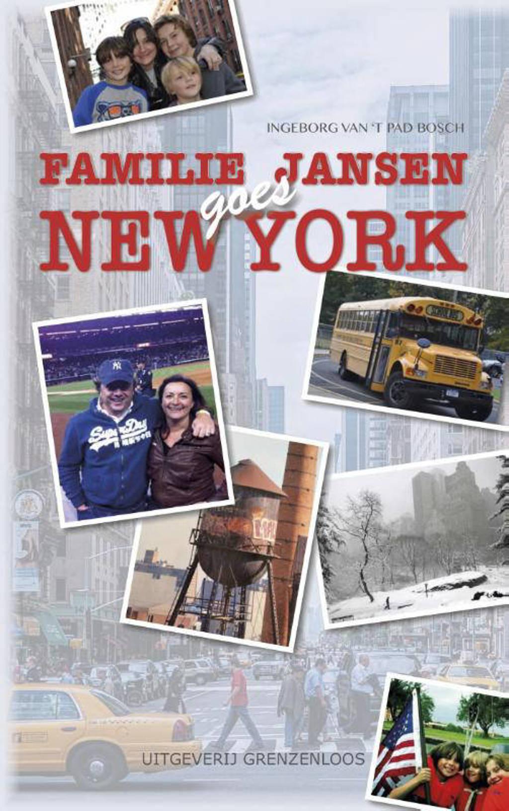 Familie Jansen goes New York - Ingeborg van 't Pad-Bosch
