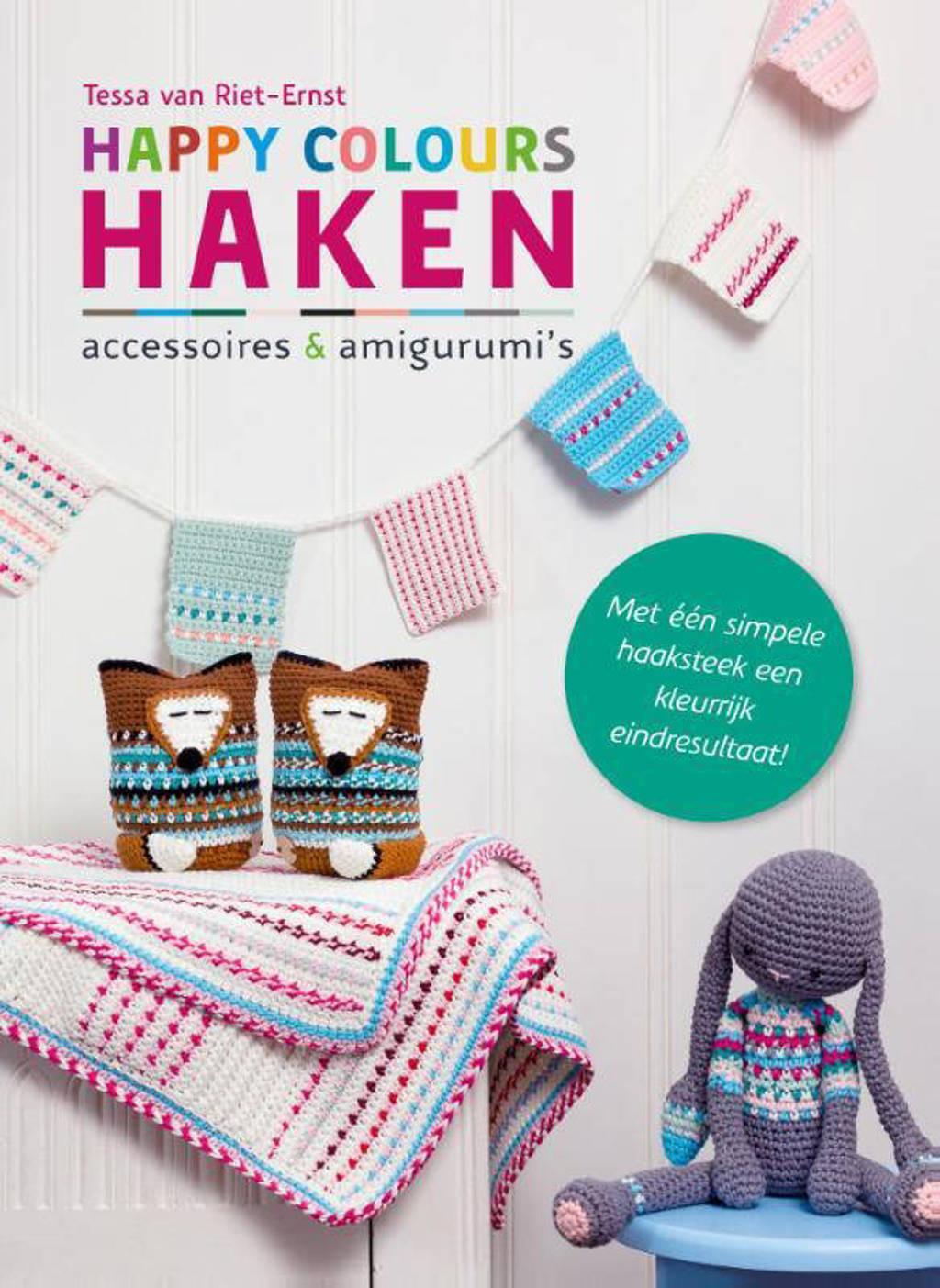 Happy colours haken - Tessa van Riet-Ernst