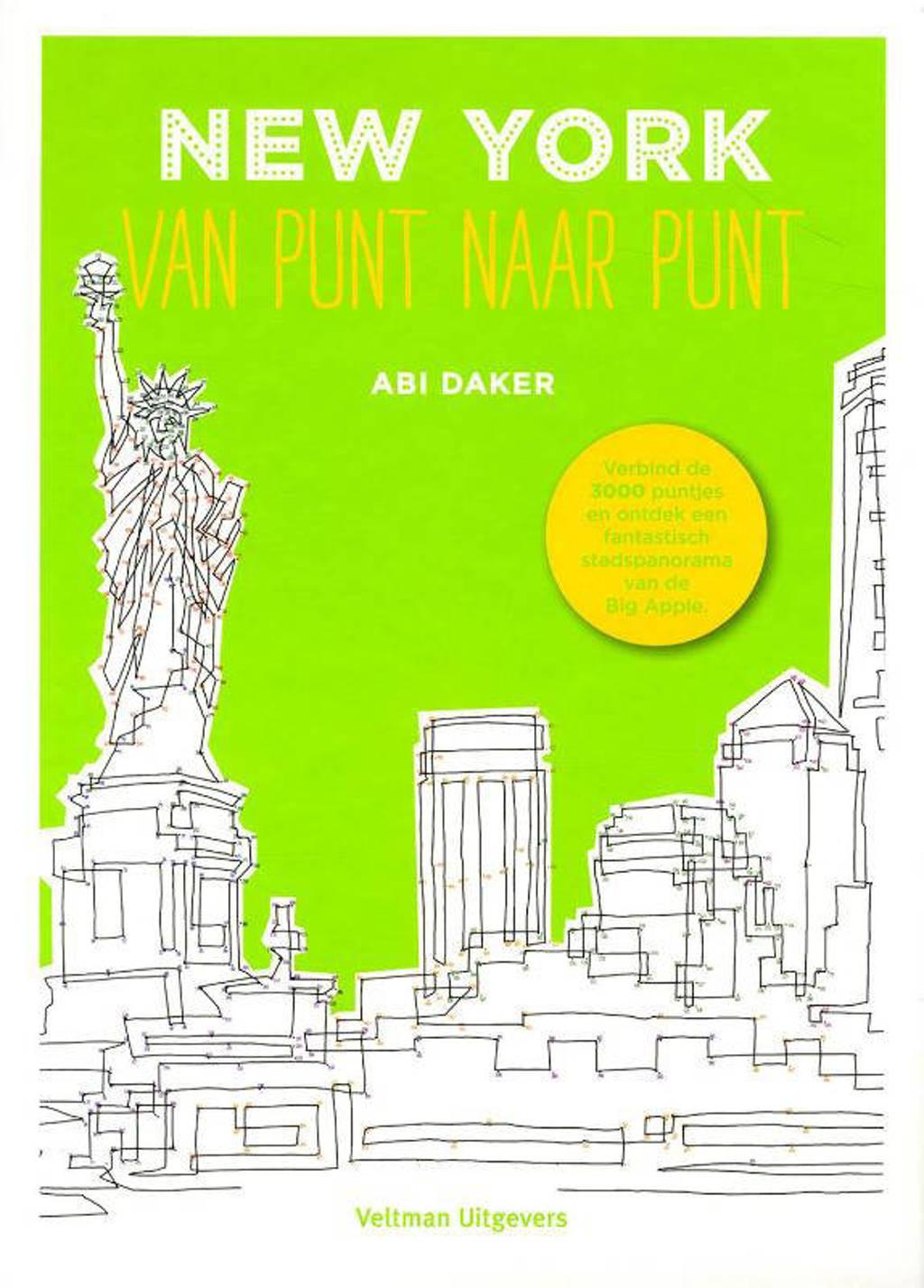 New York, van punt naar punt - Abi Daker