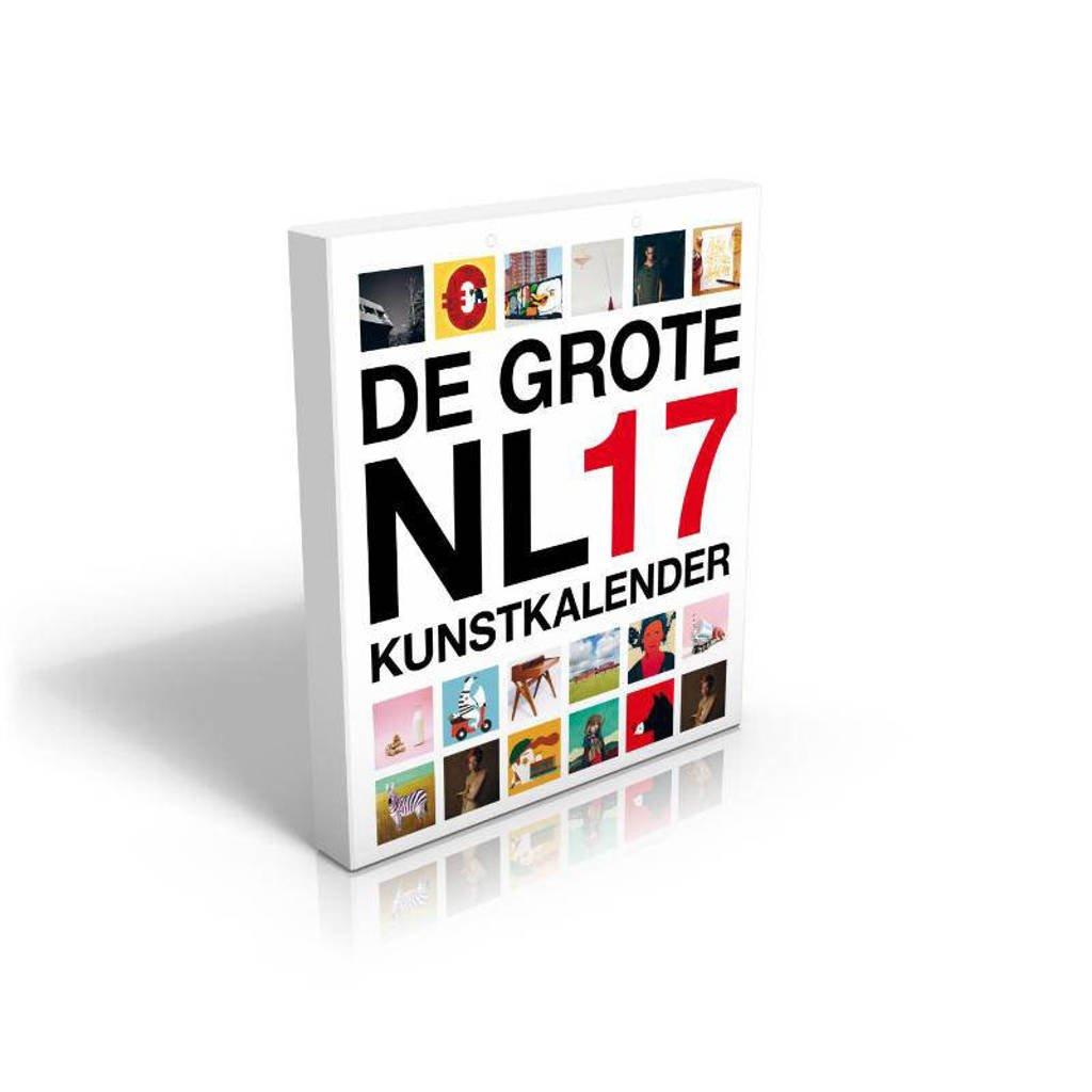 De grote nederlandse kunstkalender 2017