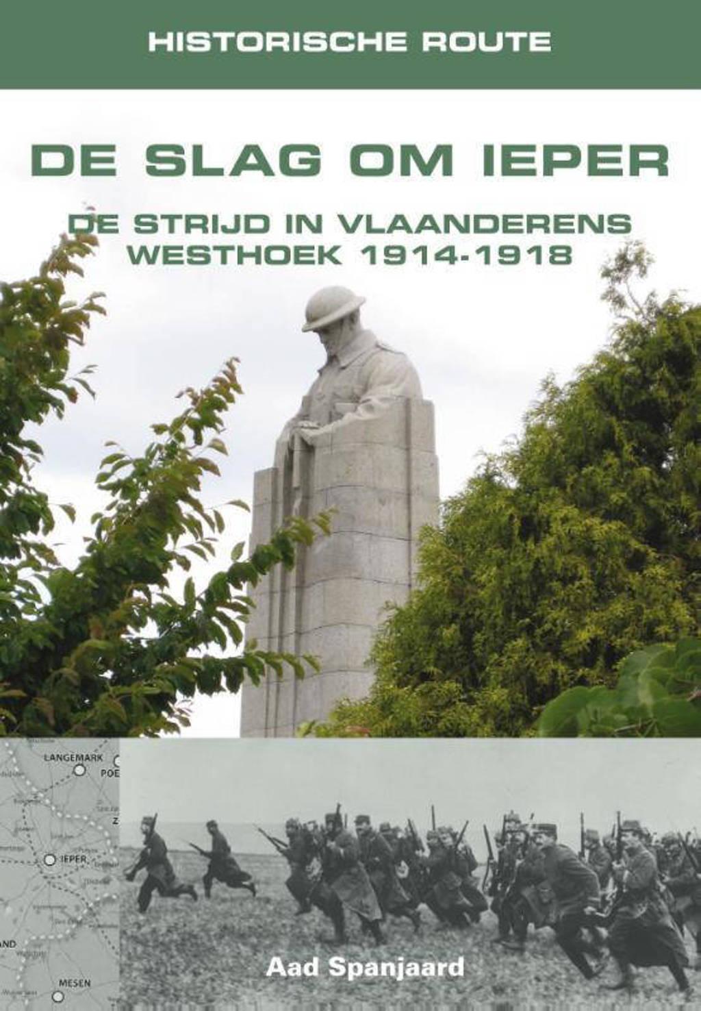 Historische route De Slag om Ieper - Aad Spanjaard