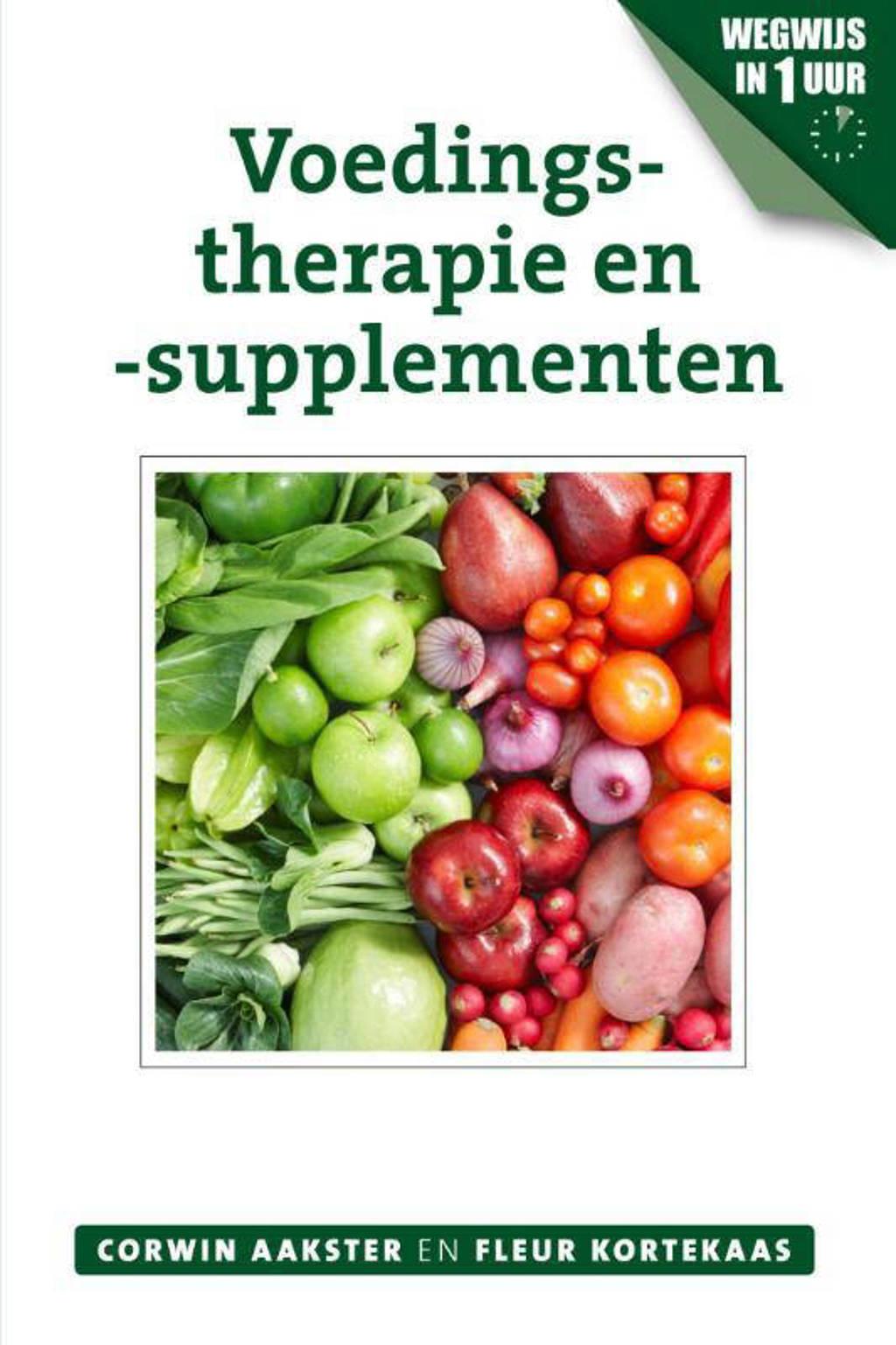 Geneeswijzen in Nederland: Voedingstherapie en -supplementen - Corwin Aakster en Fleur Kortekaas