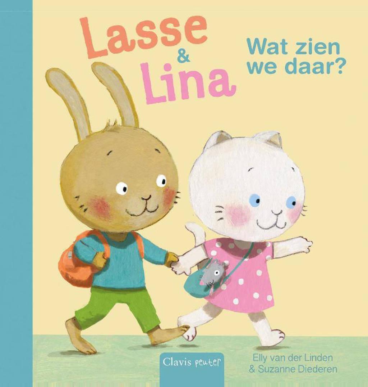 Lasse & Lina: Wat zien we daar? - Elly van der Linden