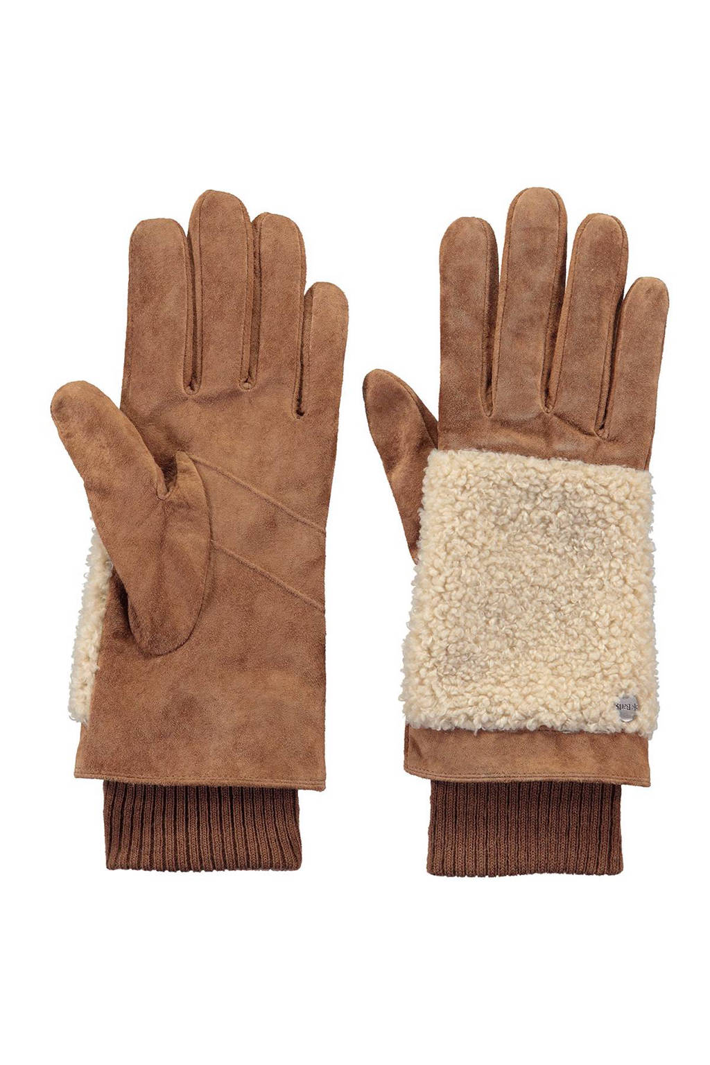 Barts leren handschoenen, Bruin