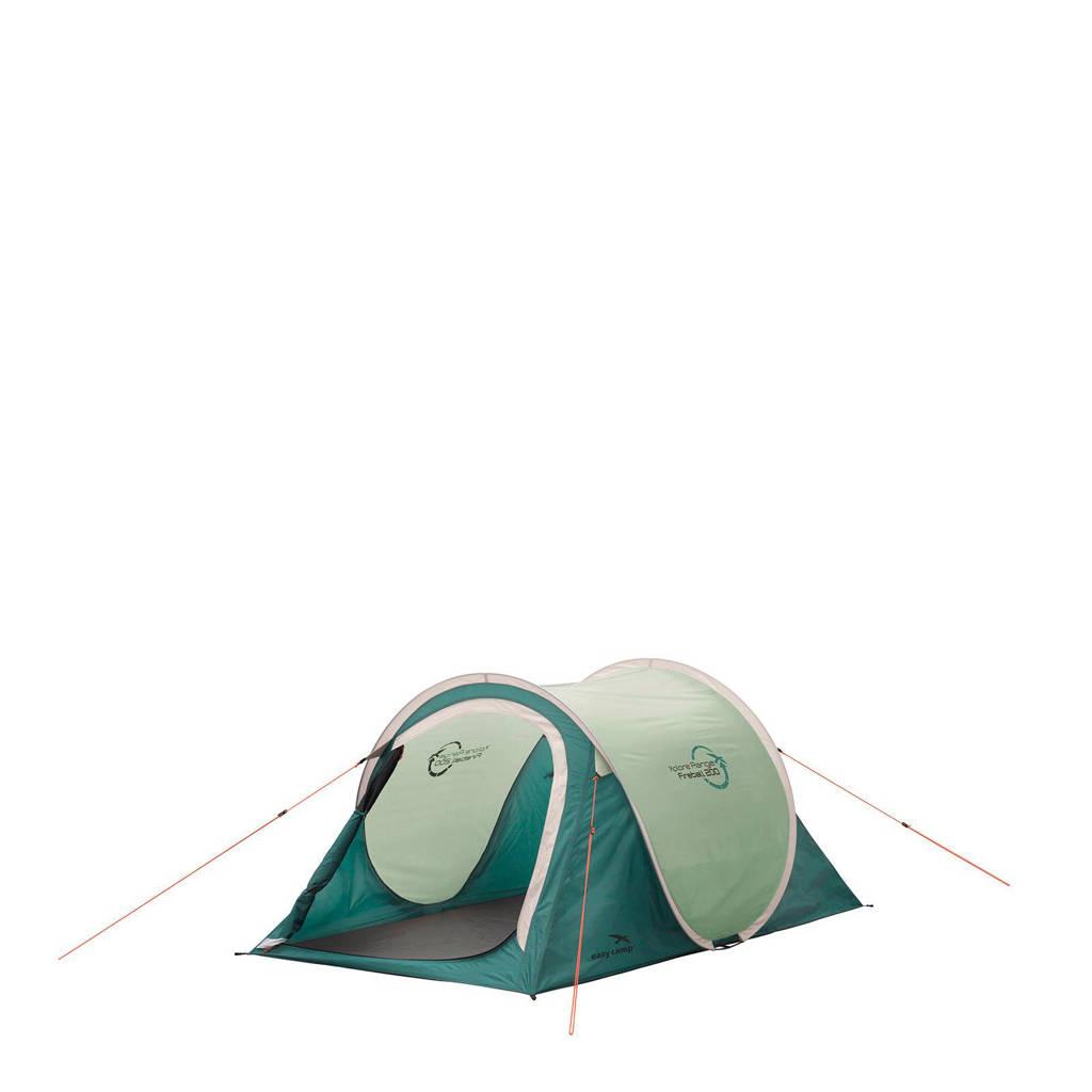 Easy Camp  lichtgewicht 2-persoons pop-up tent Fireball 200, Groen/lichtgroen