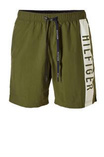 Tommy Hilfiger zwemshort met printopdruk groen (heren)