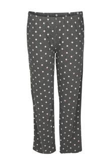 pyjamabroek met stippen grijs