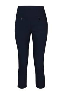 Cassis high waist capri tregging marineblauw