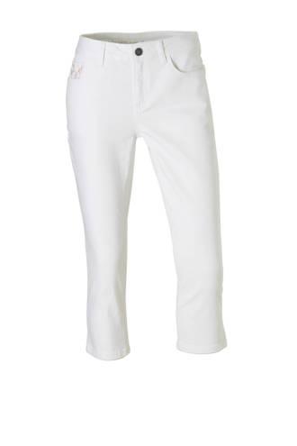 The Denim capri jeans wit