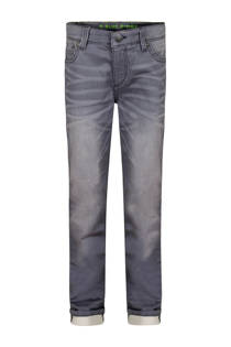 WE Fashion Blue Ridge slim fit jog denim grijs (jongens)