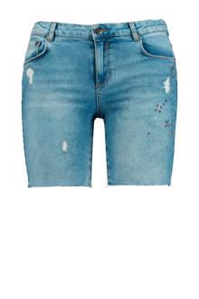jeans short met studs