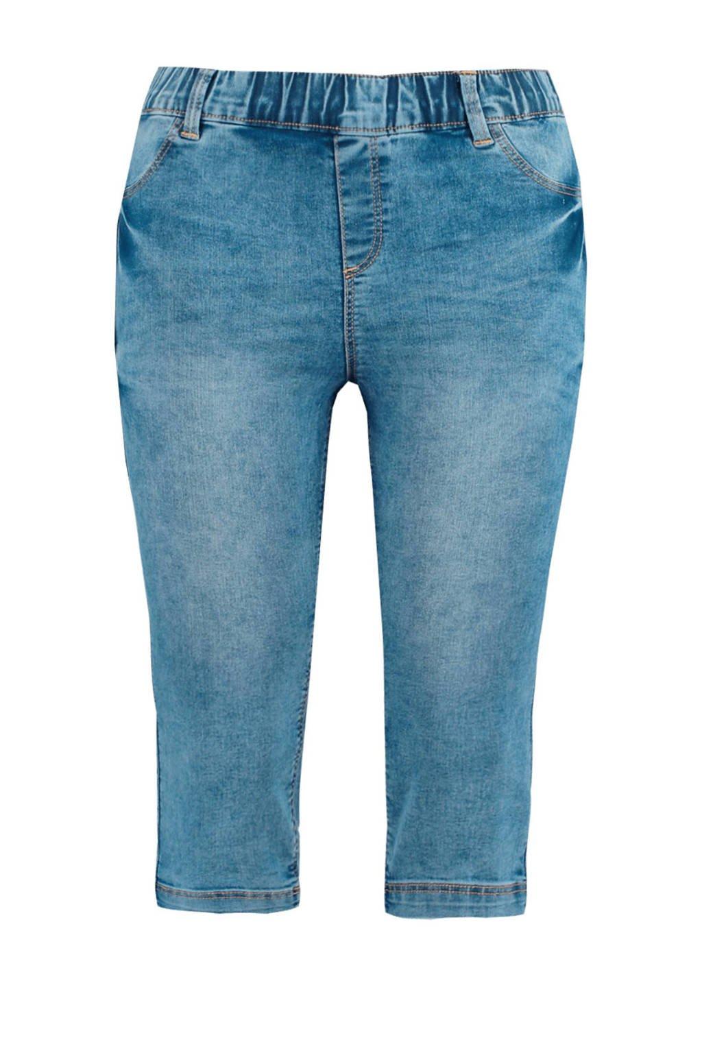 MS Mode capri tregging blauw, Blauw