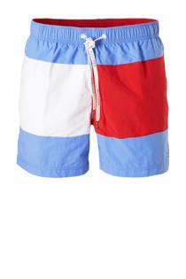 Tommy Hilfiger zwemshort met kleurvlakken blauw (heren)