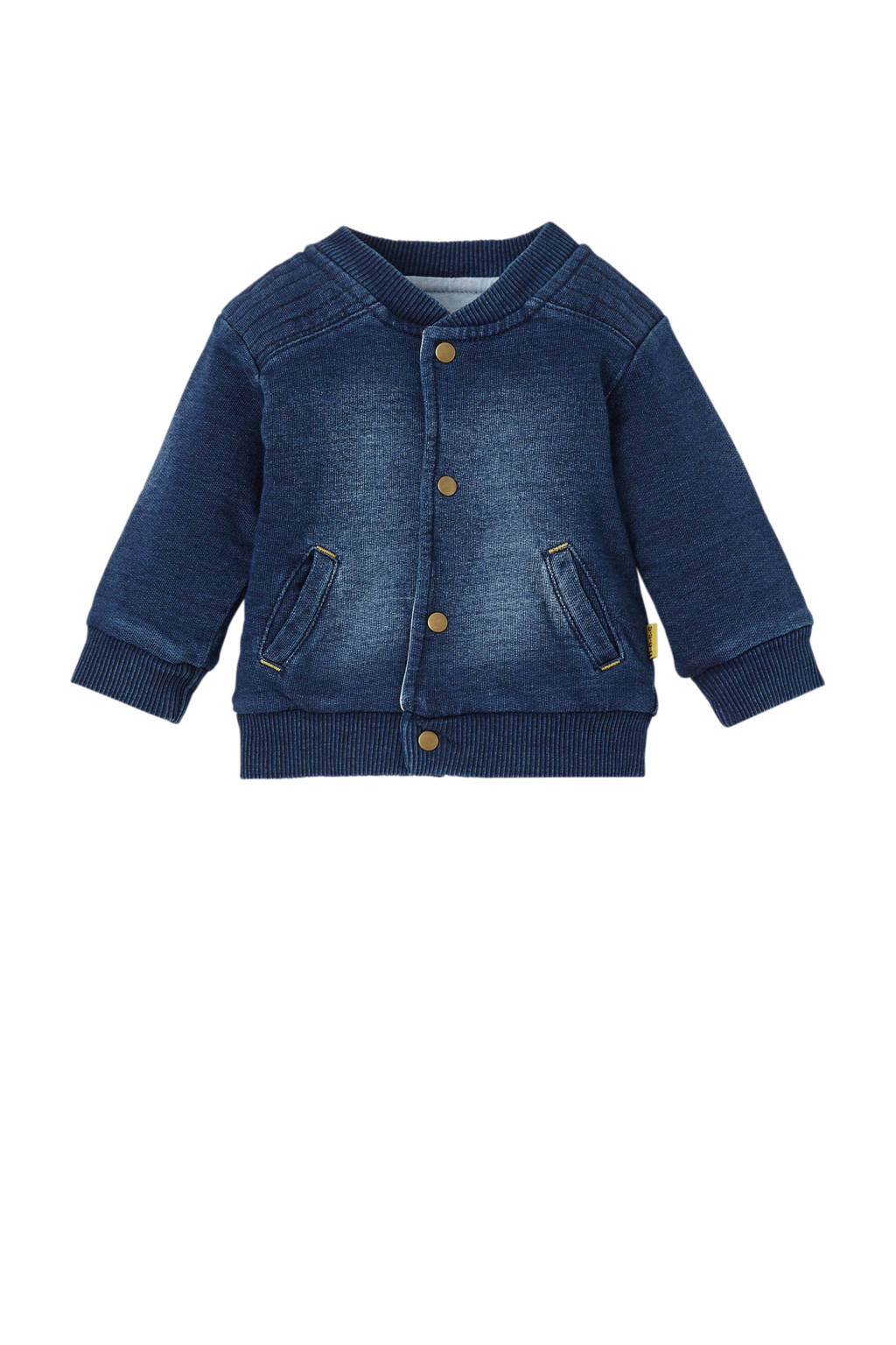 B.E.S.S newborn bombervest, Dark denim
