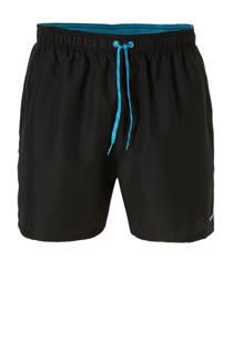 Nike zwemshort met fijne perforatie zwart (heren)