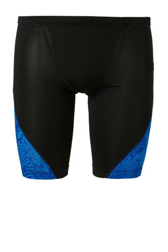 zwemboxer lang zwart