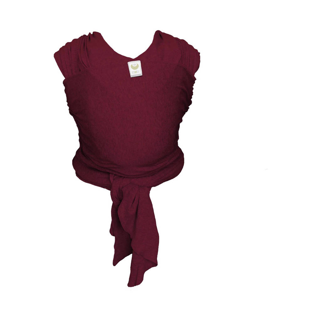 ByKay Stretchy Wrap Classic draagdoek berry red, Berry Red