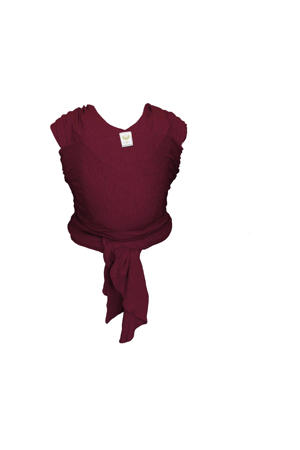Stretchy Wrap Classic draagdoek berry red