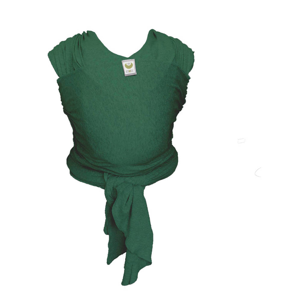 ByKay Stretchy Wrap Classic draagdoek forest green