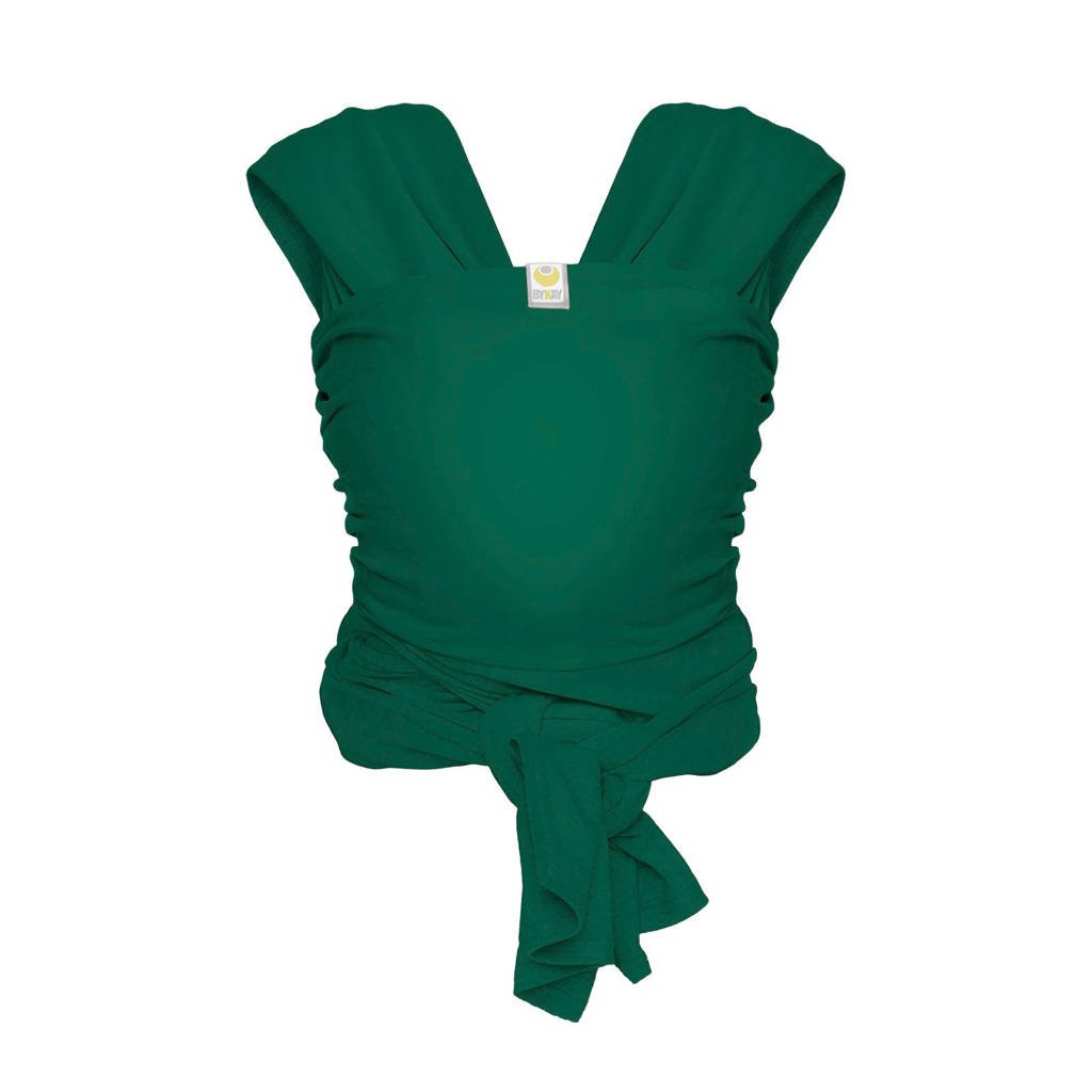 ByKay Stretchy Wrap Deluxe draagdoek forest green L