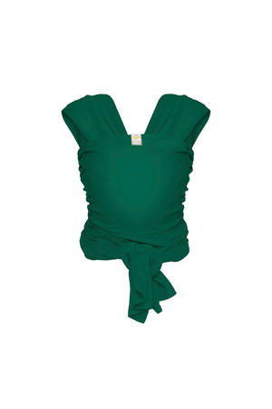 Stretchy Wrap Deluxe draagdoek forest green L