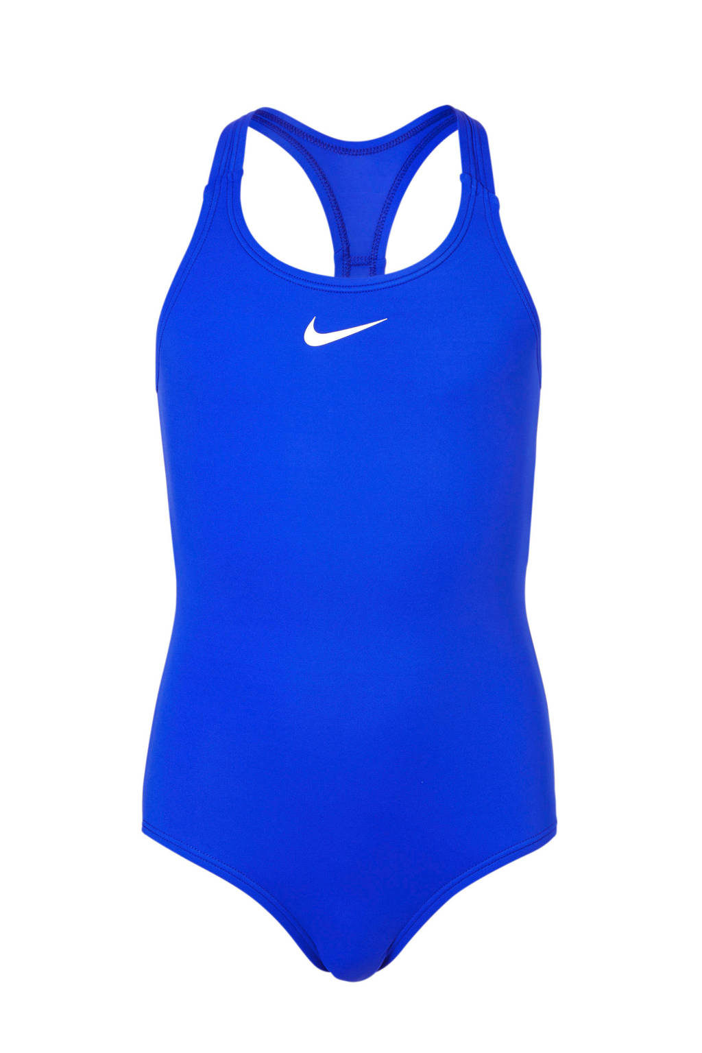Nike sportbadpak met racerback blauw, Blauw
