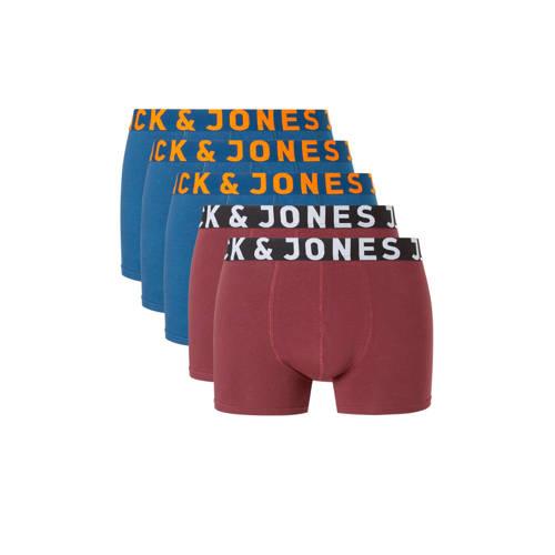 Jack & Jones katoenen boxershort - set van 5 kopen