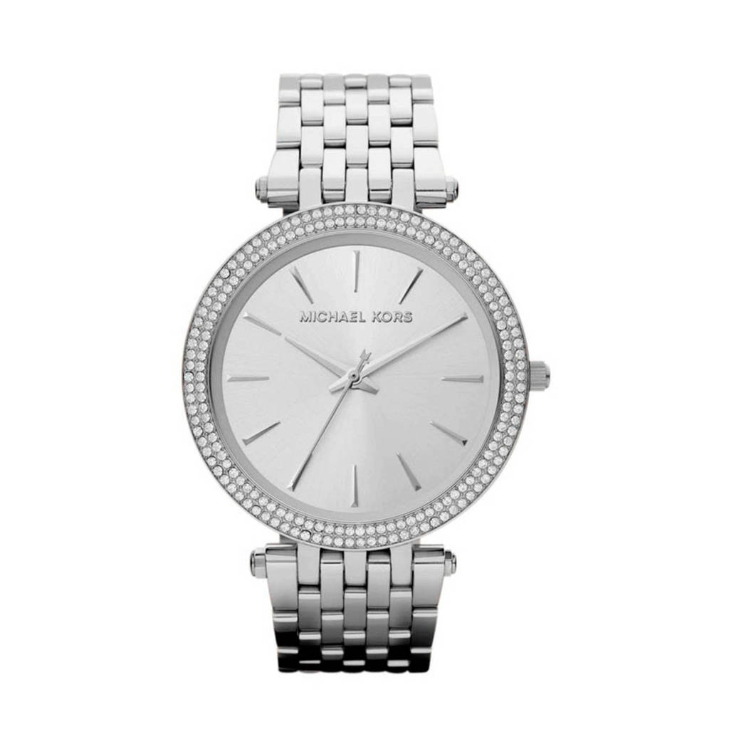 Michael Kors Stainless horloge MK3190, Zilverkleurig