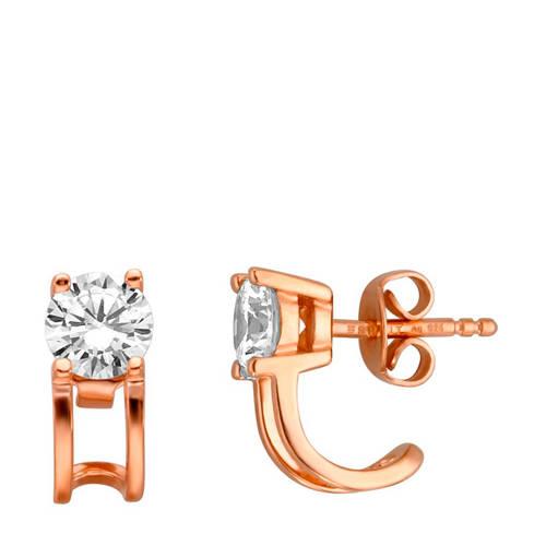 ESPRIT zilveren oorstekers roségoud - ESER00101300 kopen