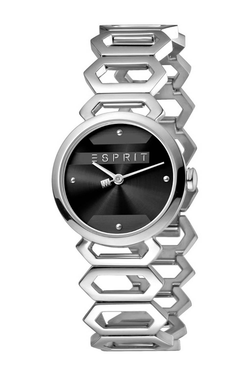 ESPRIT horloge - ES1L021M0025, Zilver/zwart