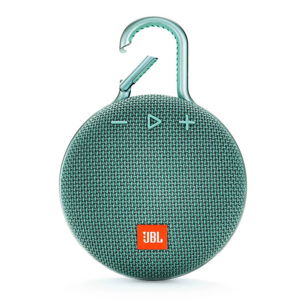 JBL Clip 3  bluetooth speaker teal, Turkoois
