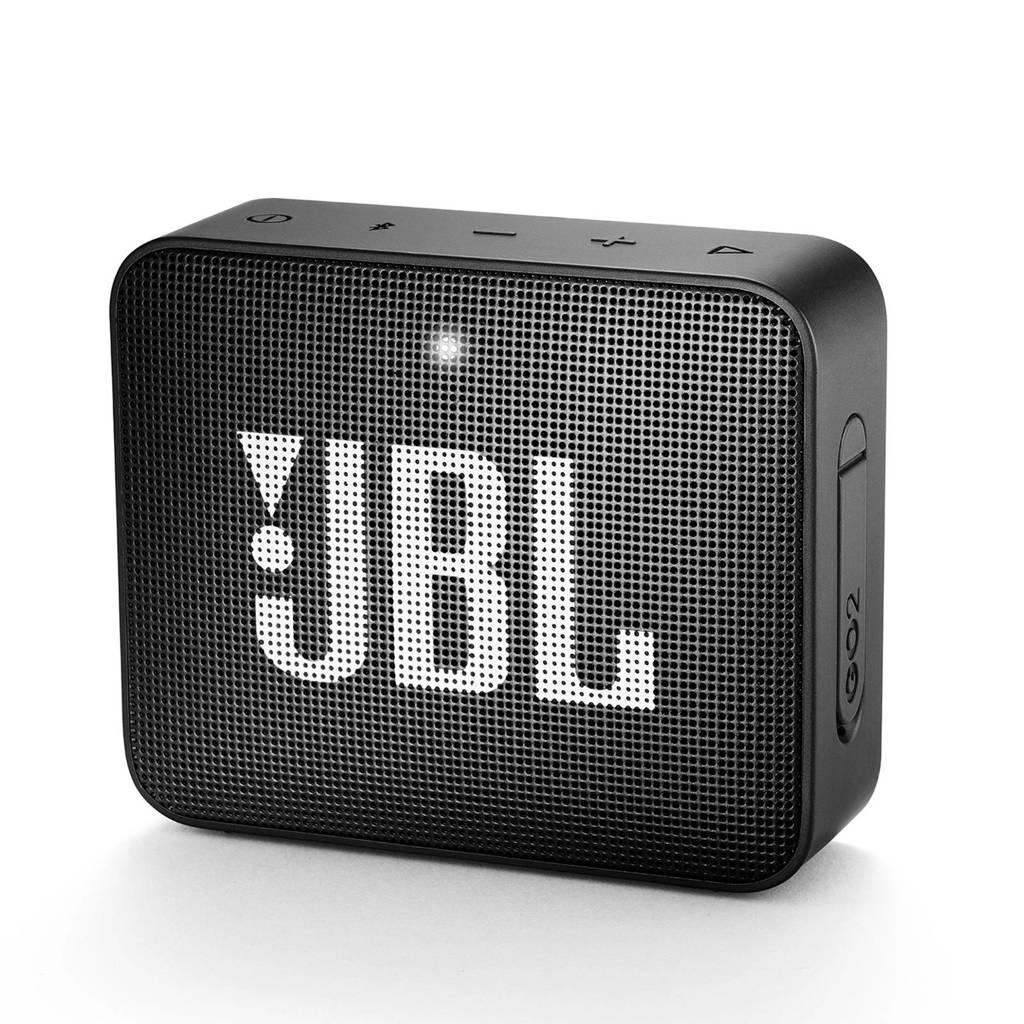 JBL GO 2  bluetooth speaker  zwart, Zwart