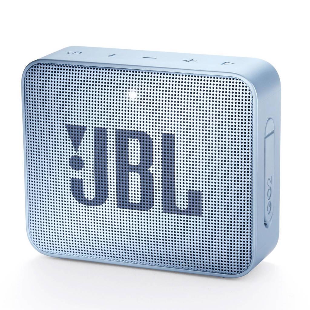 JBL GO 2  bluetooth speaker lichtblauw, Cyaan
