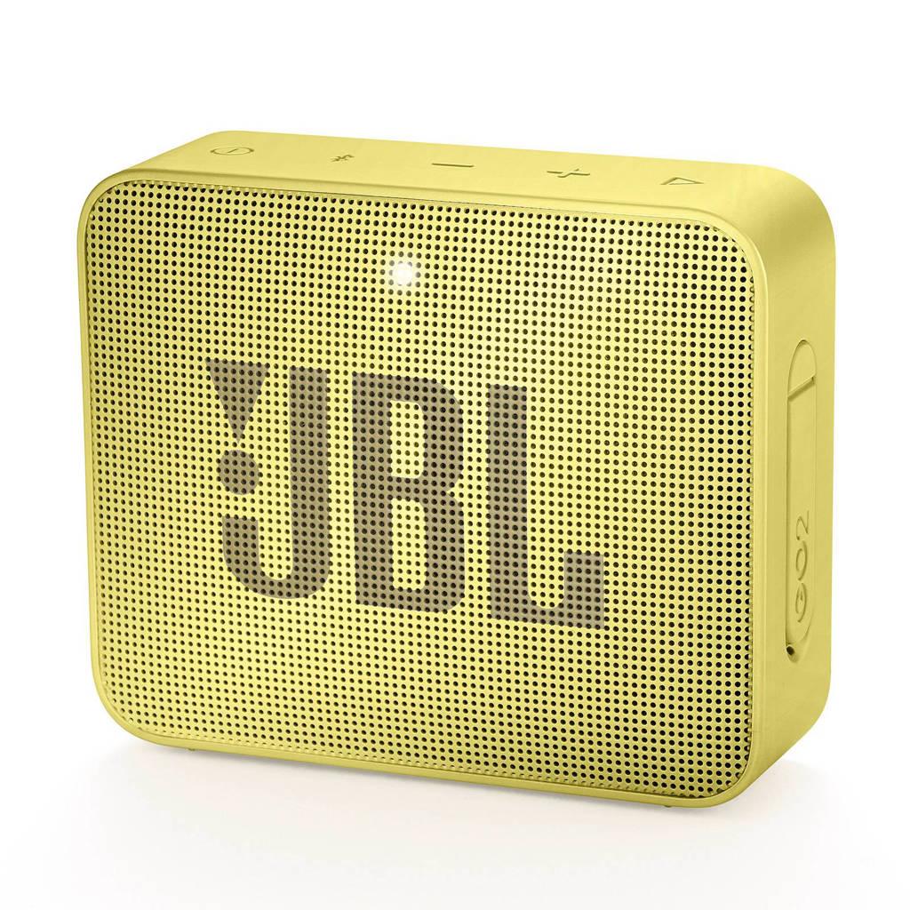 JBL Go 2  bluetooth speaker geel, Geel