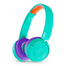 on-ear kinder hoofdtelefoon JR300BT blauwgroen