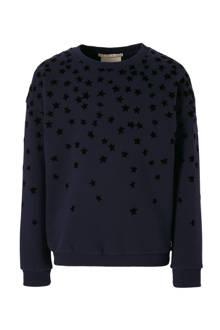 sweater met sterren donkerblauw