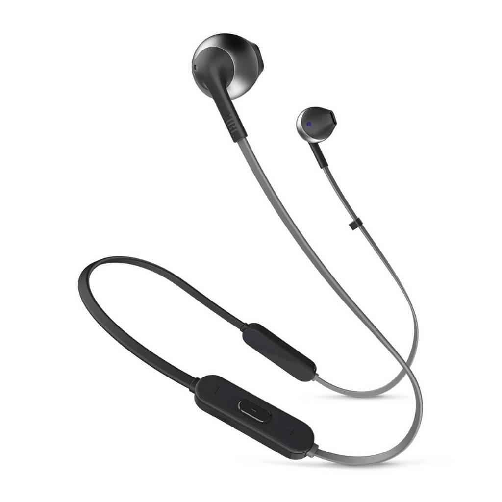 JBL in-ear bluetooth koptelefoon Tune205BT zwart, Zwart