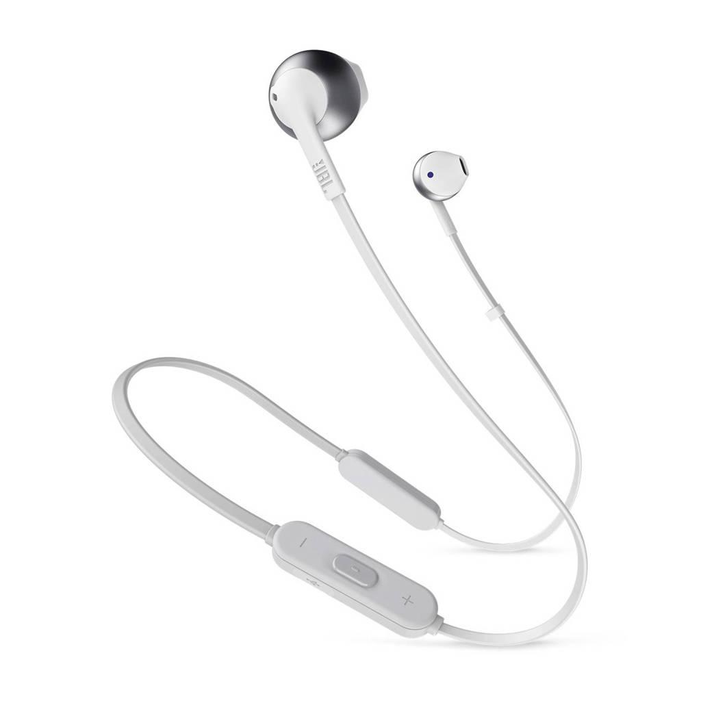 JBL in-ear bluetooth koptelefoon Tune205BT zilver, Zilver