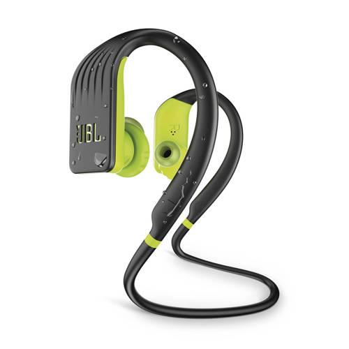 in-ear bluetooth sport koptelefoon Endurance JUMP zwart-lime