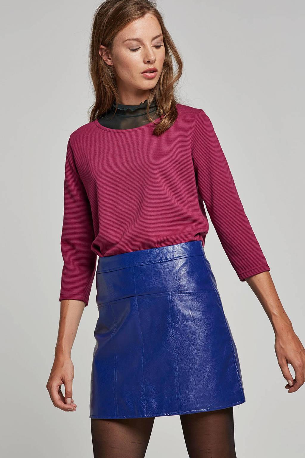 JACQUELINE DE YONG top, Rood/roze