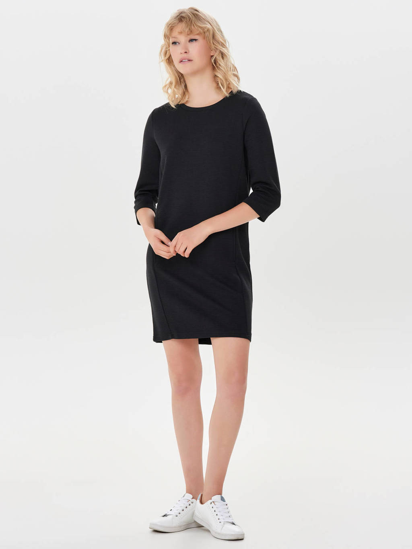 JACQUELINE DE YONG jurk, Zwart