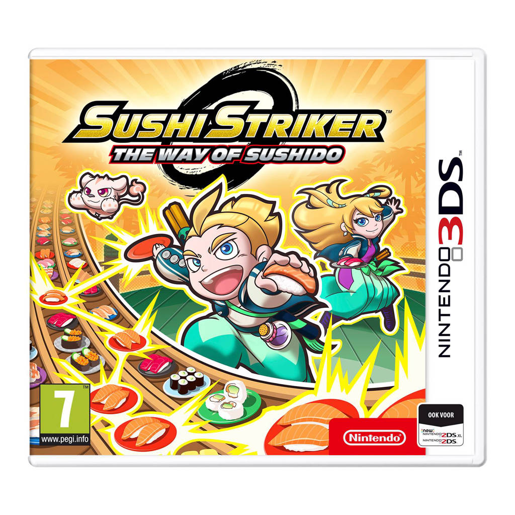 Sushi Striker way of the sushido (Nintendo 3DS)