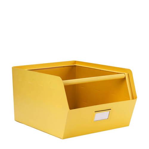 Coming Kids Metalen bak Original Yellow