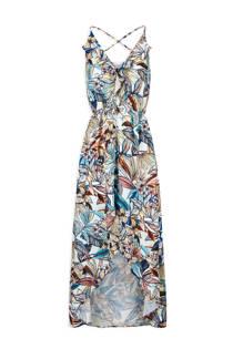 Morgan maxi jurk met bladeren