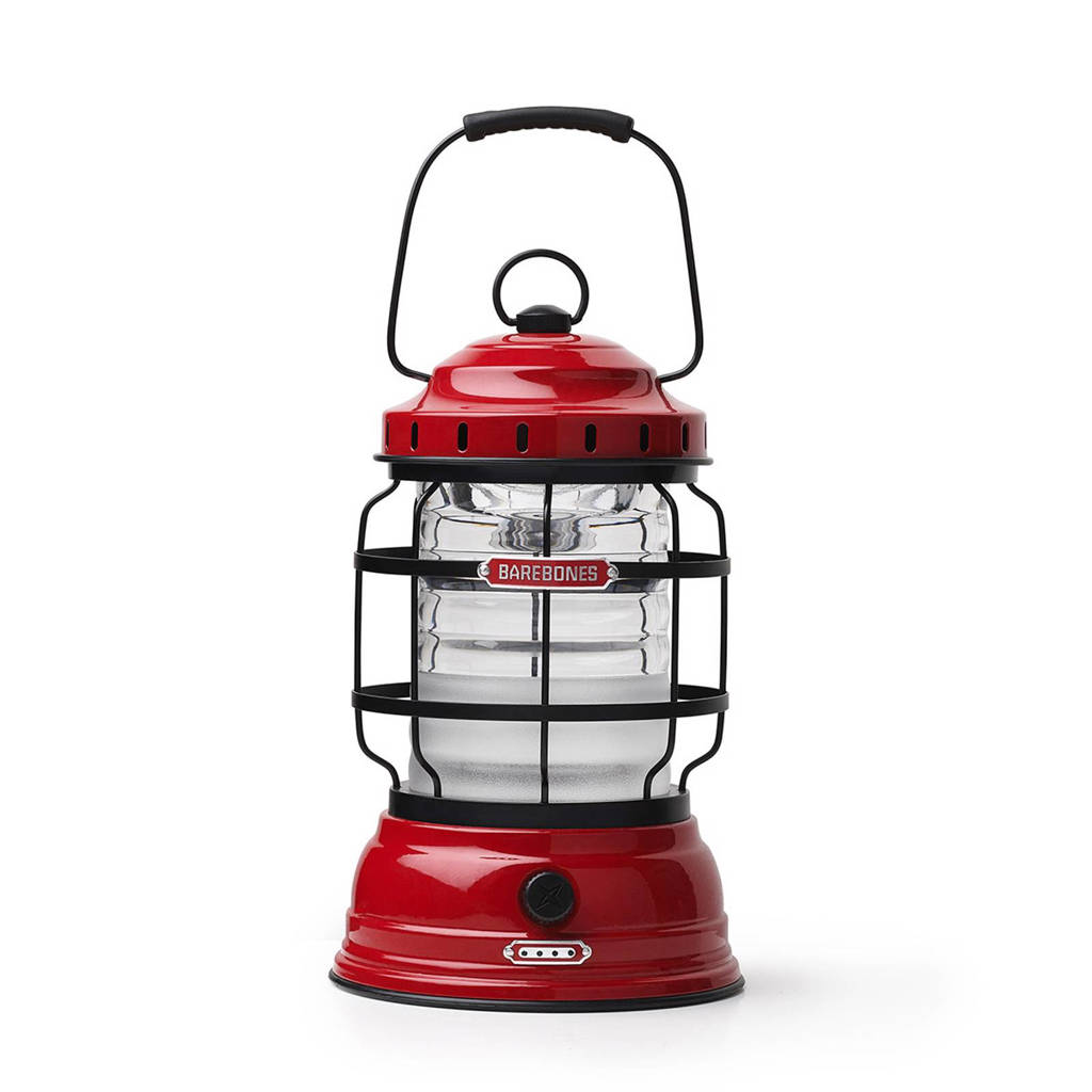 Barebones outdoor oplaadbare lamp Forest rood, Rood