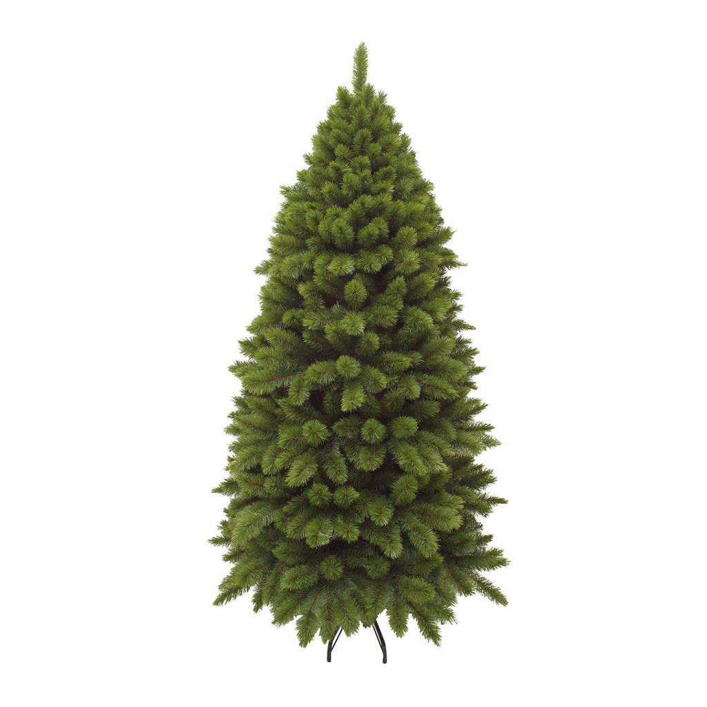 Triumph Tree halve muur kerstboom Camden (h185 x Ø86 cm), Groen