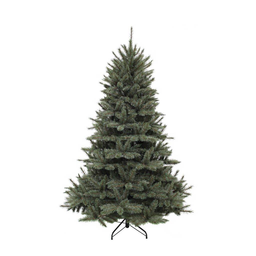 Triumph Tree kerstboom Forest Frosted (h155 x Ø119 cm), h155 x ø119, Blauw