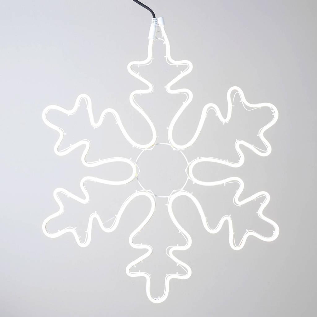 Luca Lighting verlicht kerstfiguur sneeuwvlok (Ø68 cm)