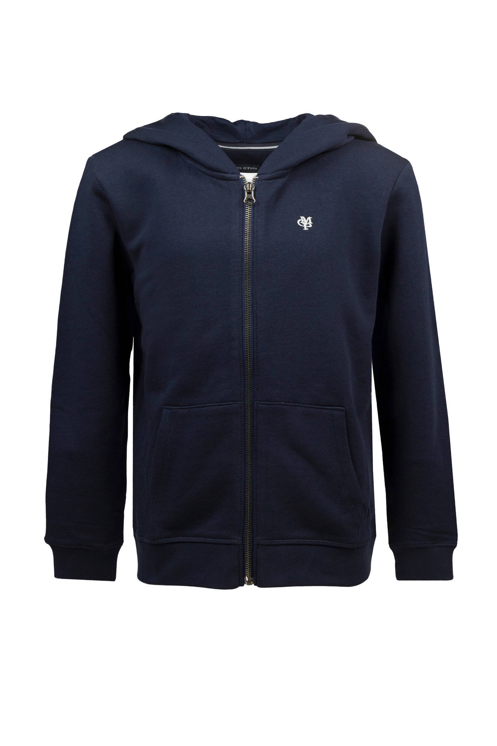 Marc O'Polo hooded sweatvest donkerblauw (jongens)